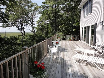 Wellfleet Cape Cod vacation rental - Huge private deck with views