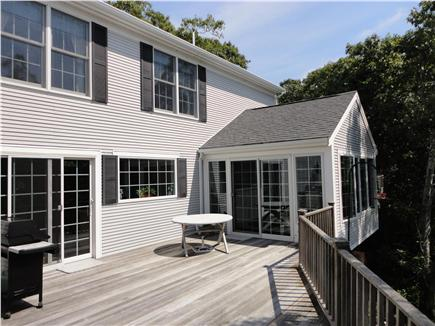 Wellfleet Cape Cod vacation rental - More deck and sunroom too