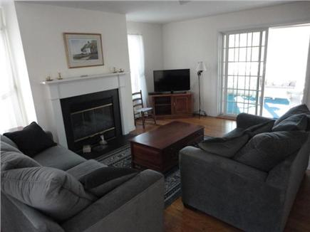 Wellfleet Cape Cod vacation rental - Den with TV and access to sunroom