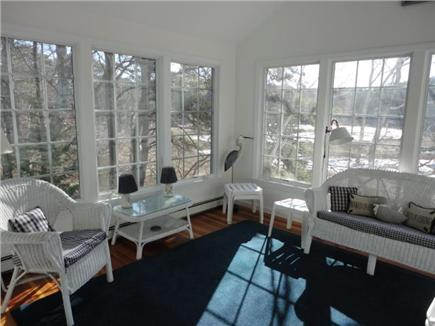 Wellfleet Cape Cod vacation rental - Sunroom with access to deck and views