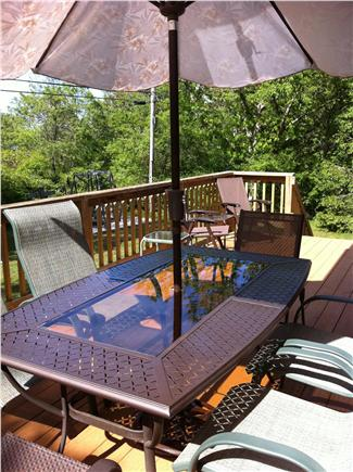 Brewster Cape Cod vacation rental - Deck