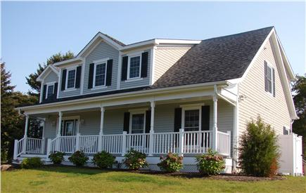 Brewster Cape Cod vacation rental - Brewster vacation rental ID 22720 Front with farmer's porch