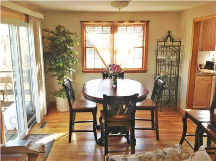 Harwich Cape Cod vacation rental - Dining room from living room