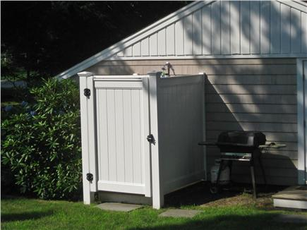 Osterville Osterville vacation rental - Outdoor shower and grill