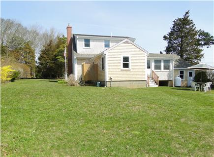 East Orleans Cape Cod vacation rental - Large private back yard with sitting area, new outdoor shower