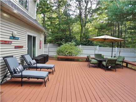 New Seabury (Mashpee) New Seabury vacation rental - Deck area