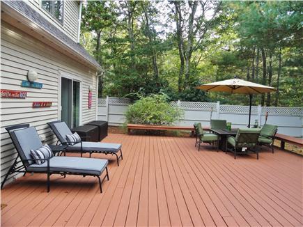 New Seabury (Mashpee) New Seabury vacation rental - Deck area