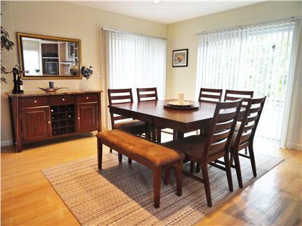 New Seabury (Mashpee) New Seabury vacation rental - Dining room with sliders to deck
