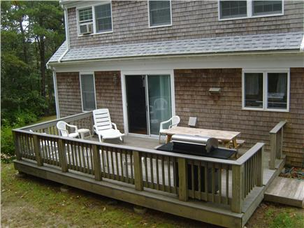 Harwichport Cape Cod vacation rental - Back view of house