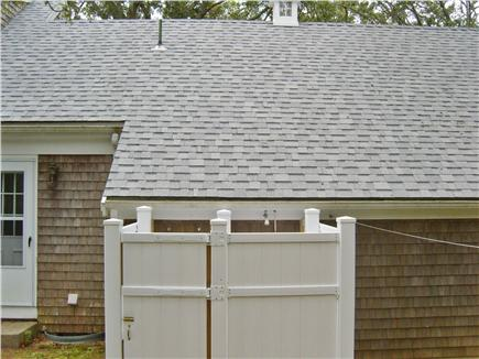 Harwichport Cape Cod vacation rental - Outdoor shower