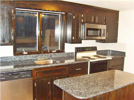 Harwichport Cape Cod vacation rental - New ''Blue Pearl'' granite kitchen