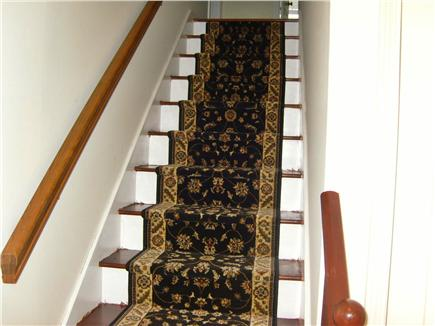 Harwichport Cape Cod vacation rental - Staircase going upstairs