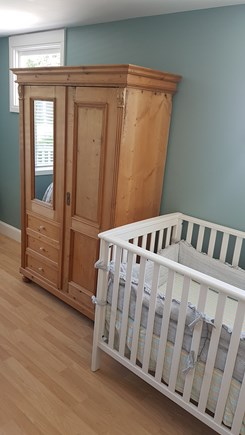 West Harwich Cape Cod vacation rental - Master with a crib