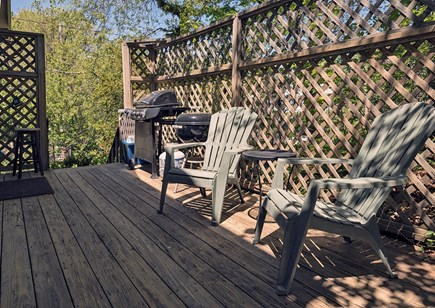 Provincetown Cape Cod vacation rental - Side deck