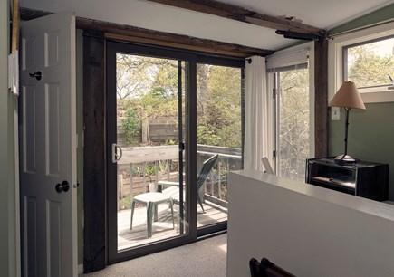 Provincetown Cape Cod vacation rental - Deck off second floor bedroom.