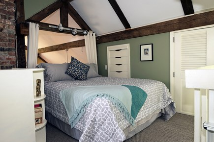 Provincetown Cape Cod vacation rental - Second floor bedroom.  Private bathroom and deck.