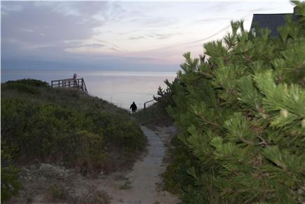 North Truro Cape Cod vacation rental - Truro vacation rental ID 22785 Pathway to private beach