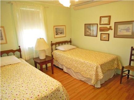 North Truro Cape Cod vacation rental - 3rd Bedroom with 2 twin beds