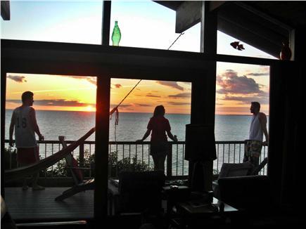 Truro Cape Cod vacation rental - Sunset