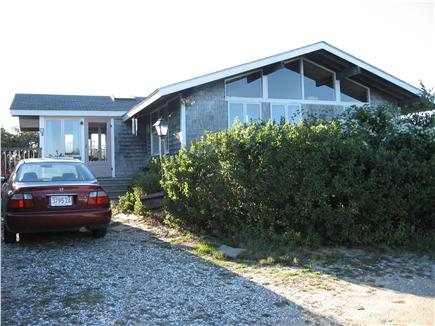 Truro Cape Cod vacation rental - Driveway (not shown, more parking for five cars)