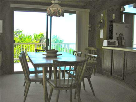 Truro Cape Cod vacation rental - Dining room looking west