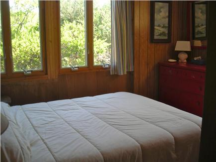 Truro Cape Cod vacation rental - Downstairs queen bed room