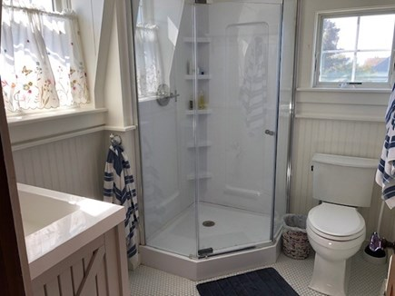 Wellfleet Cape Cod vacation rental - Guest Bath with walk-in shower
