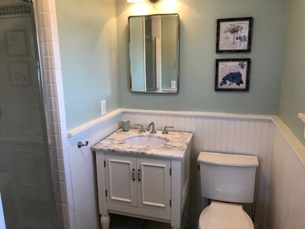 Wellfleet Cape Cod vacation rental - Master Bath with walk-in Shower