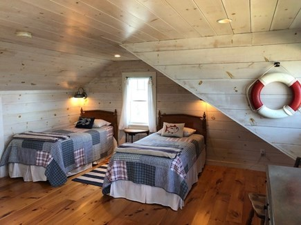 Wellfleet Cape Cod vacation rental - 3rd Floor Bunk Room with 4 twins (and Great Waterviews!)