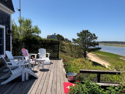 Wellfleet Cape Cod vacation rental - Large Deck, Great Place for Evening Cocktails