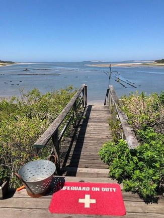 Wellfleet Cape Cod vacation rental - Steps to Beach and Oyster Farms at Low Tide