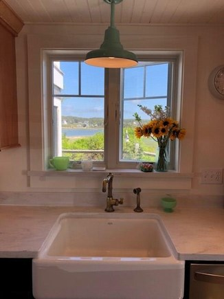 Wellfleet Cape Cod vacation rental - View of Marsh from Kitchen