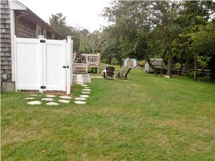 Dennis Cape Cod vacation rental - Backyard with outdoor shower