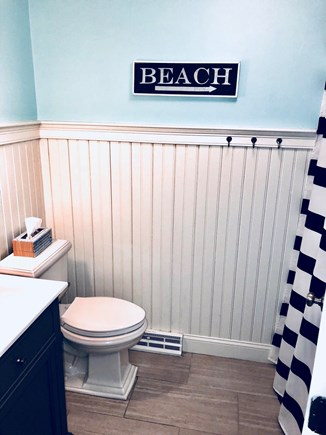 Dennis Cape Cod vacation rental - Brand New second FULL bath with tub and shower