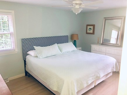 Dennis Cape Cod vacation rental - Master bedroom with new mattress and attached full bathroom