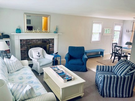Dennis Cape Cod vacation rental - Living Room with new 50 inch smart TV and WiFi