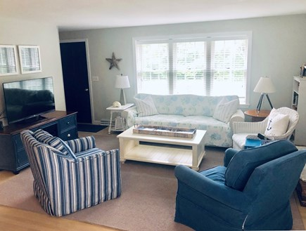 Dennis Cape Cod vacation rental - Comfortable, clean living room