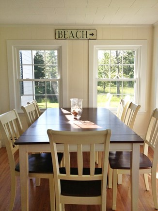 Falmouth Heights Cape Cod vacation rental - Dining Area-Main House