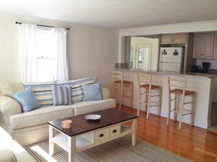 Falmouth Heights Cape Cod vacation rental - Living Room/Kitchen View Main House