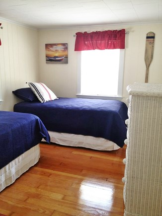 Falmouth Heights Cape Cod vacation rental - Bedroom 3 - Main House (2 Twins)