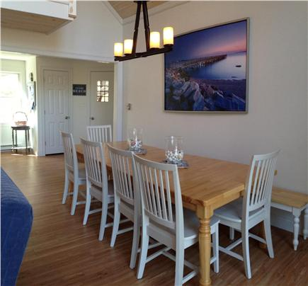 West Barnstable/Sandy Neck Bea Cape Cod vacation rental - Dinning area seats 10