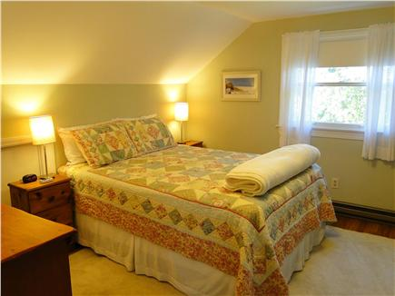 Brewster Cape Cod vacation rental - Upstairs Master bedroom with bathroom