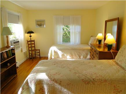 Brewster Cape Cod vacation rental - Twin bedroom on first floor
