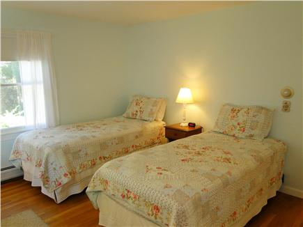Brewster Cape Cod vacation rental - Second twin bedroom on first floor