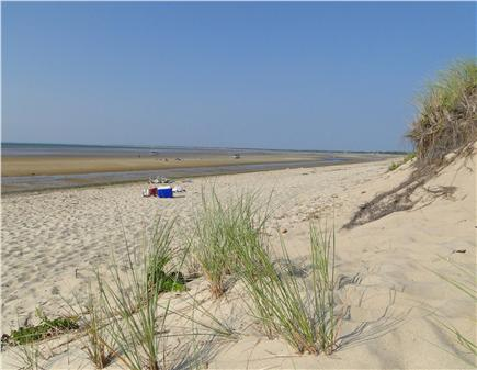 Brewster Cape Cod vacation rental - Linnell Landing beach - vast and beautiful