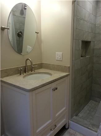 Centerville Centerville vacation rental - Newly renovated master bathroom.