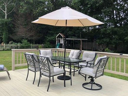 Centerville Cape Cod vacation rental - Gas BBQ and Deck Seating for Outdoor Dining and Relaxing