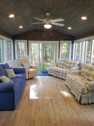 Harwich Cape Cod vacation rental - Brand new Sunroom!  Wonderful  space to relax and refresh.