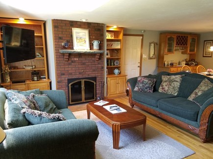 Harwich Cape Cod vacation rental - Bright and comfortable living room, flat screen tv, WiFi
