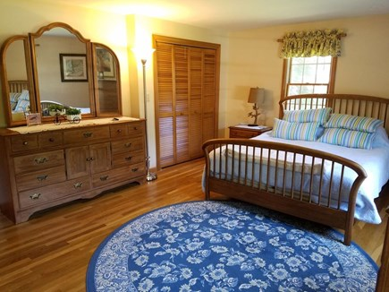 Harwich Cape Cod vacation rental - Master Bedroom, first floor.  New mattresses throughout!